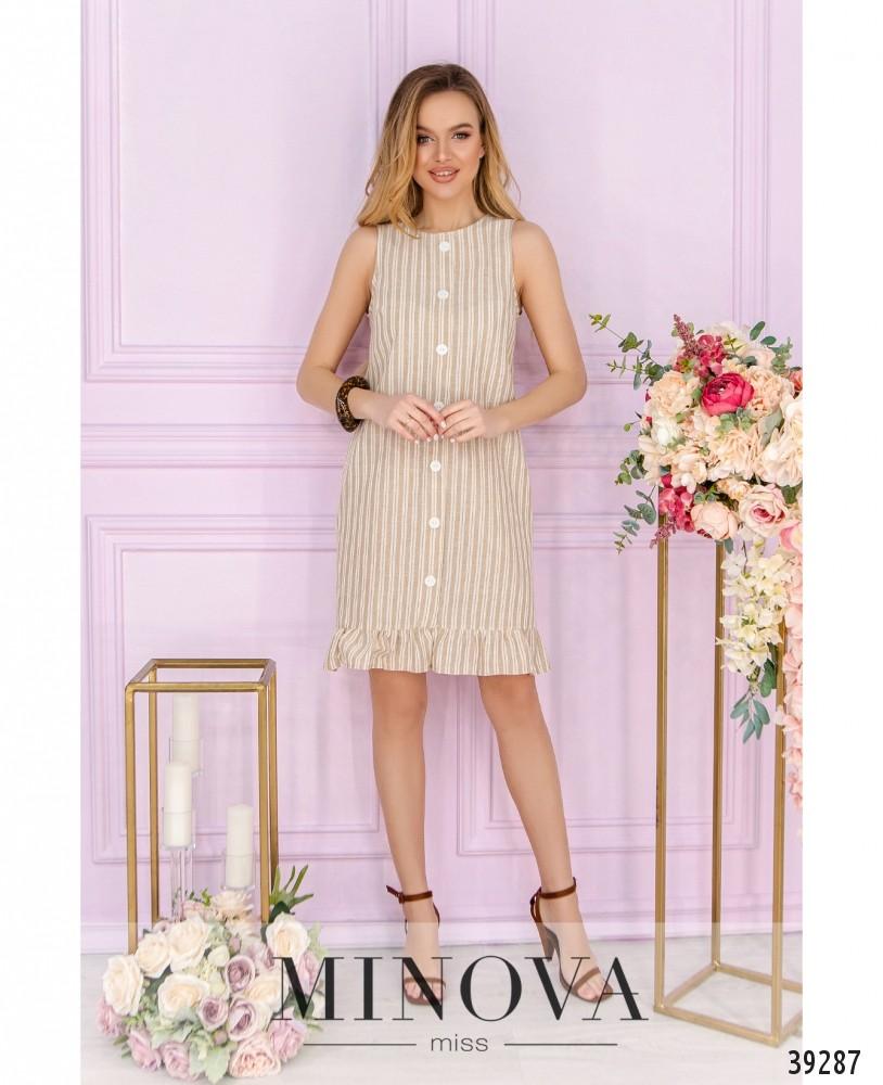 Платье №18431-бежевый (н)