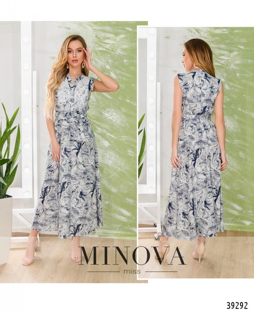 Платье №1906-белый-М