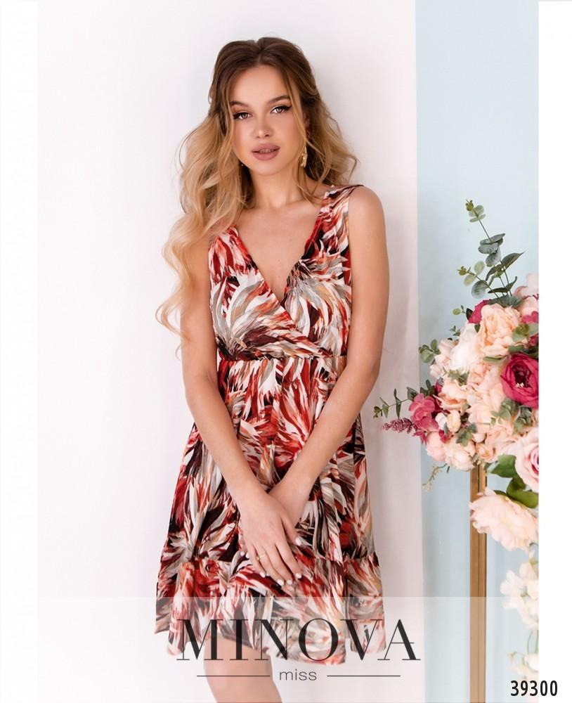 Платье №08-красный (н)