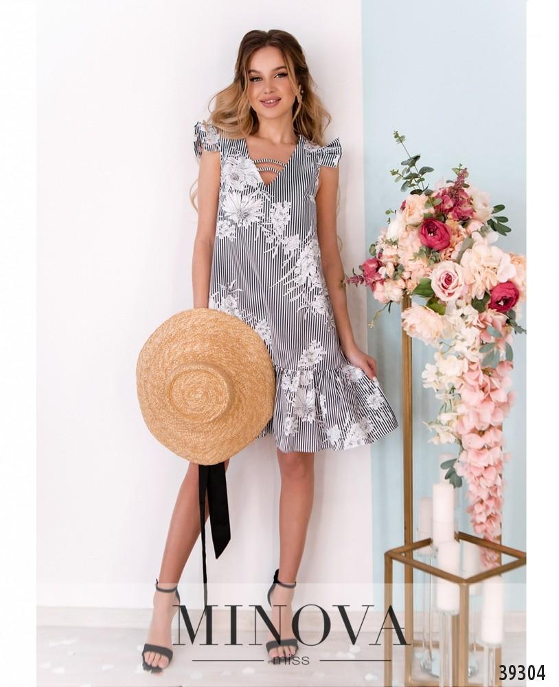 Платье №10-серый (н)