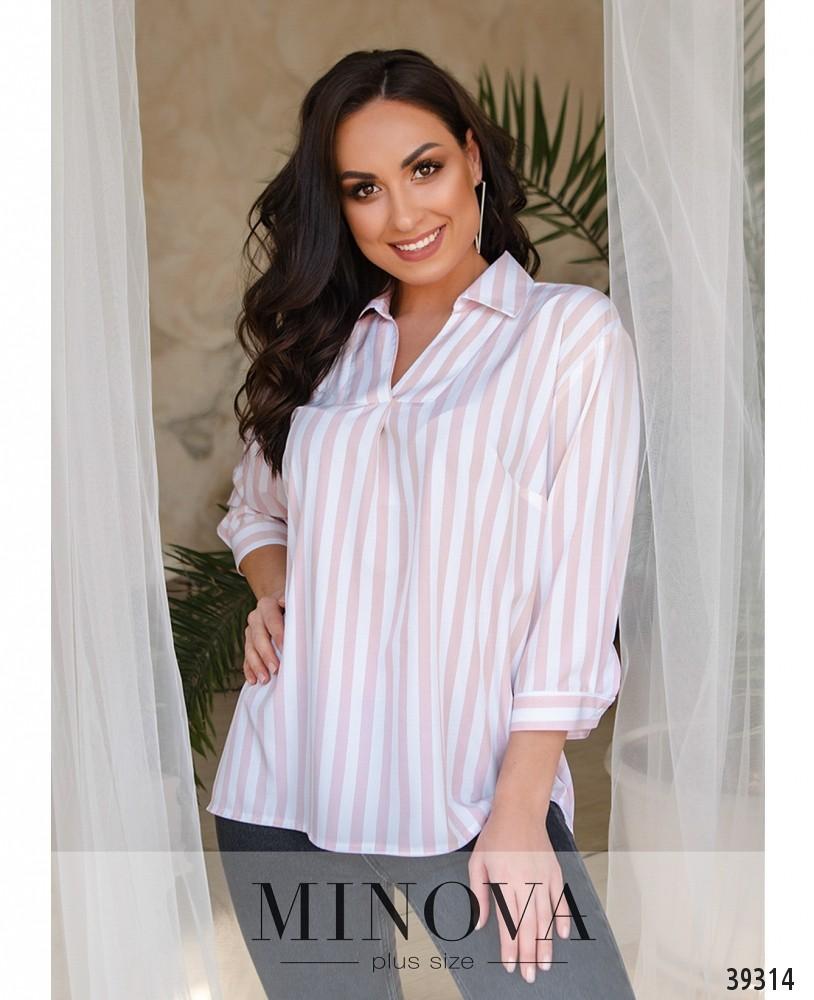 Рубашка №4149-1-розовый