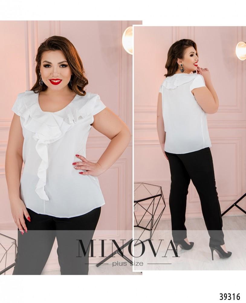 Рубашка №159Б-белый-М