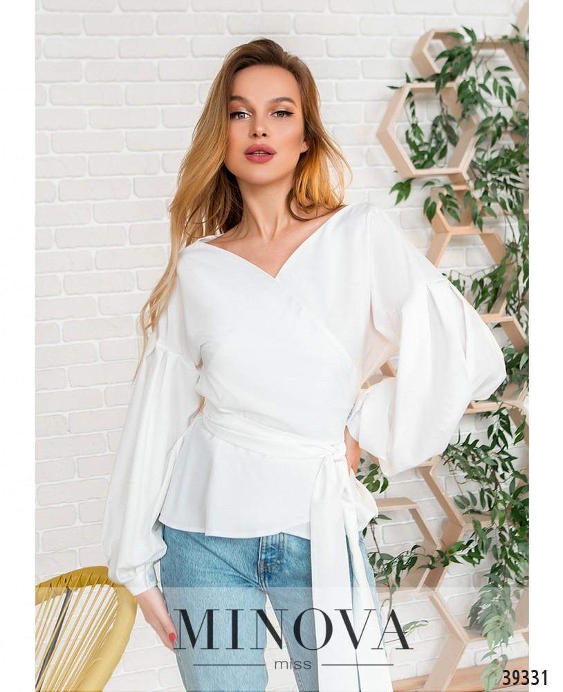 Рубашка №4123-белый (н)