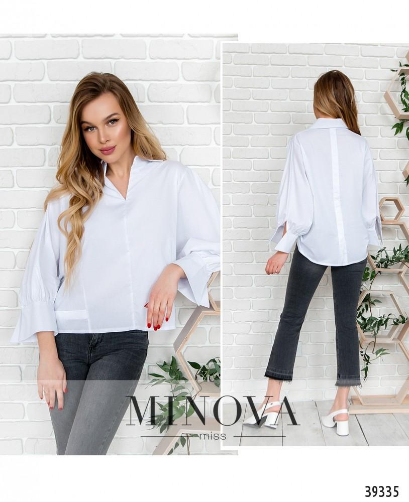 Рубашка №3023-белый-М
