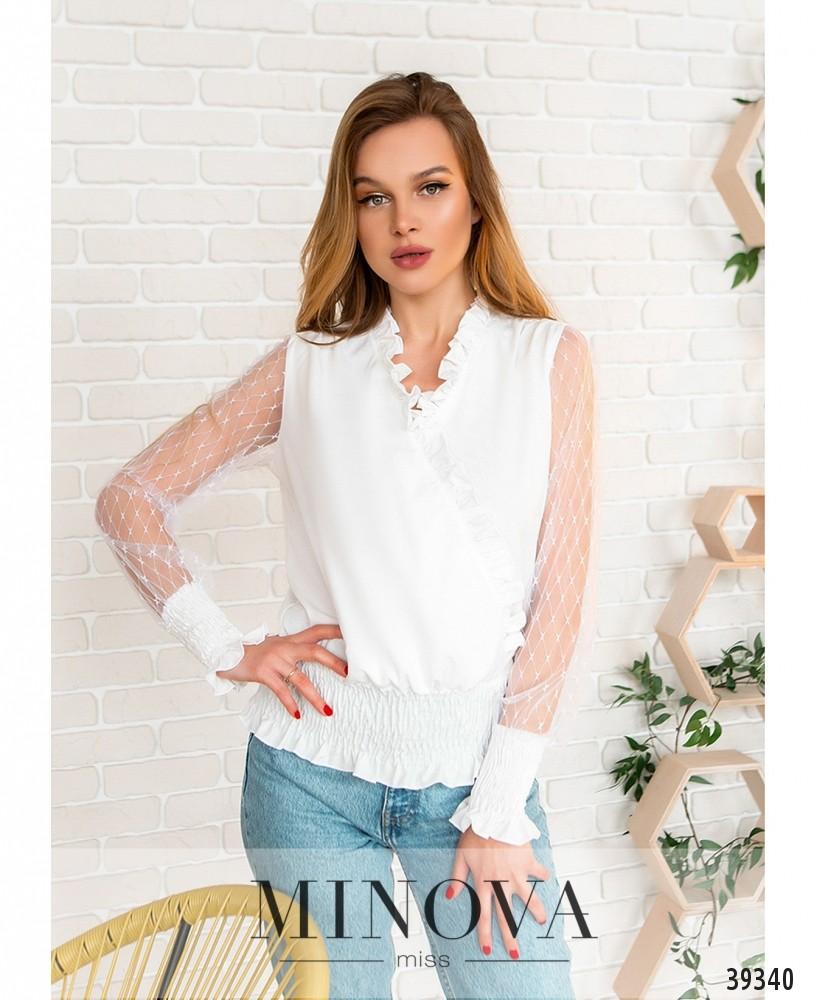 Рубашка №4118-белый (н)