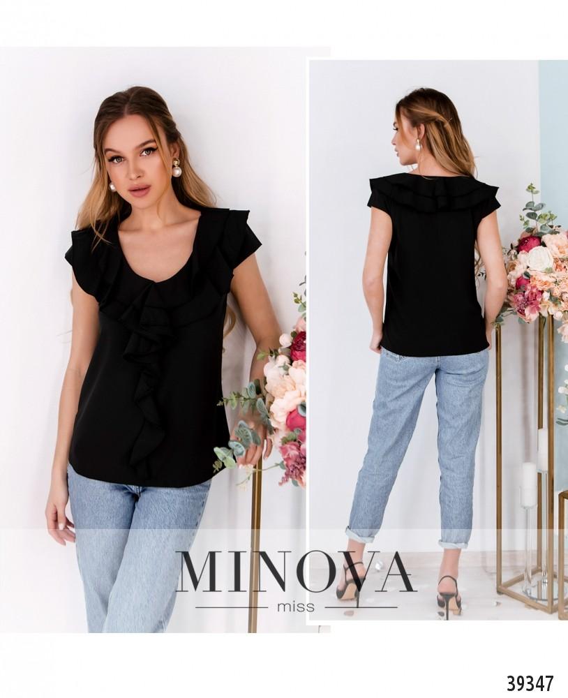 Рубашка №159-черный-М