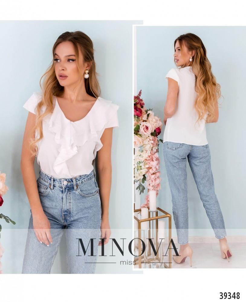Рубашка №159-белый-М