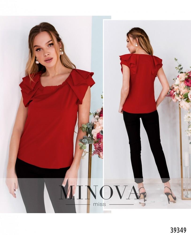 Рубашка №160-красный-М