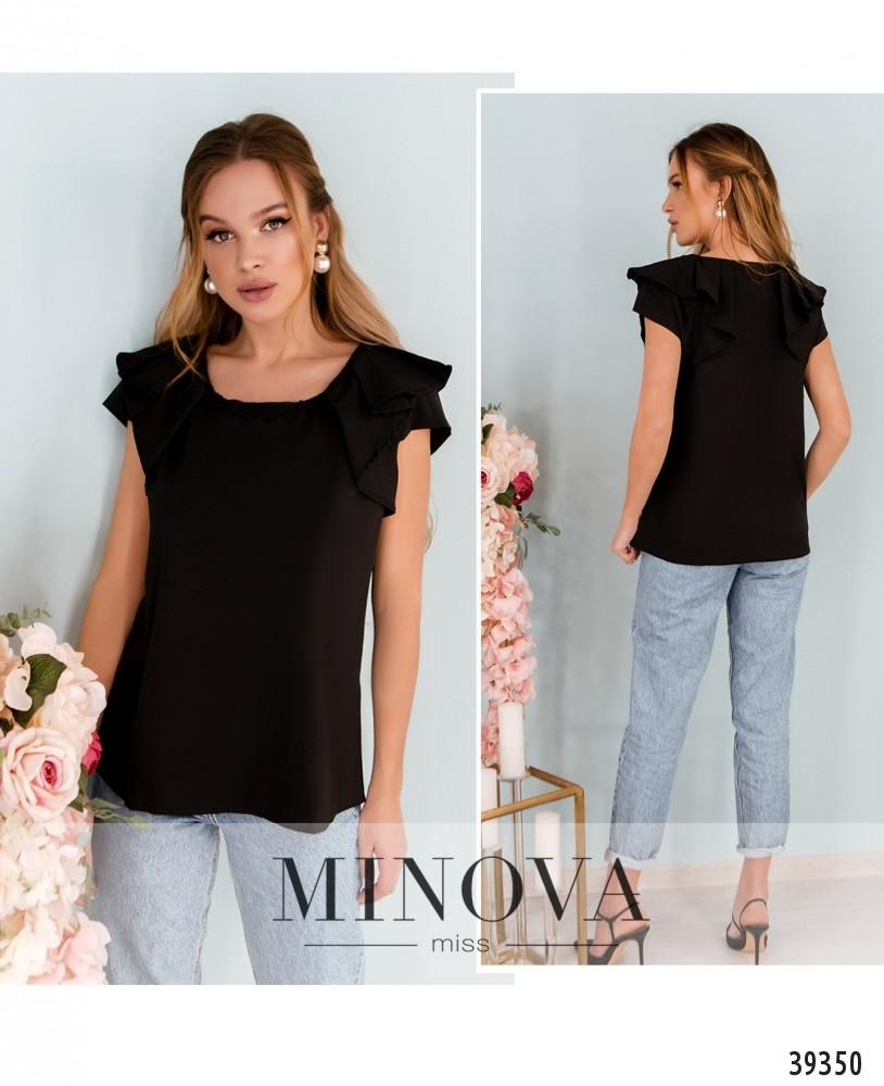 Рубашка №160-черный-М