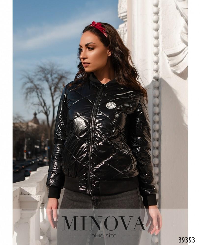 Куртка №822-черный