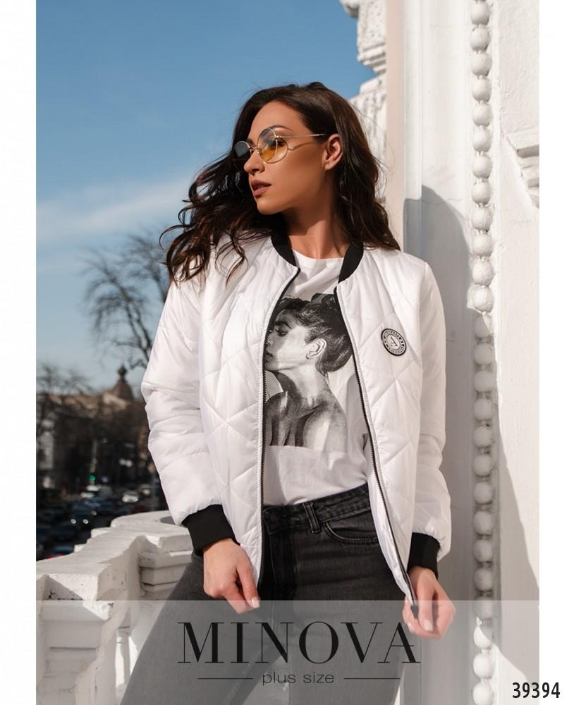 Куртка №822-белый