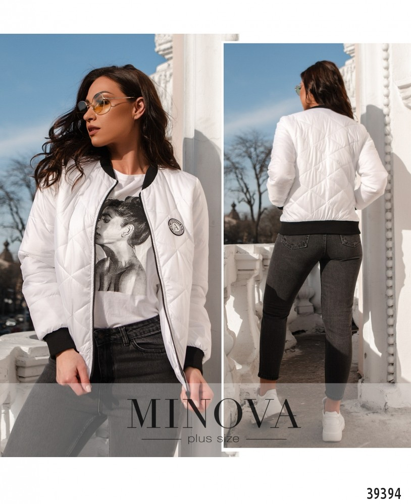 Куртка №822-белый-М