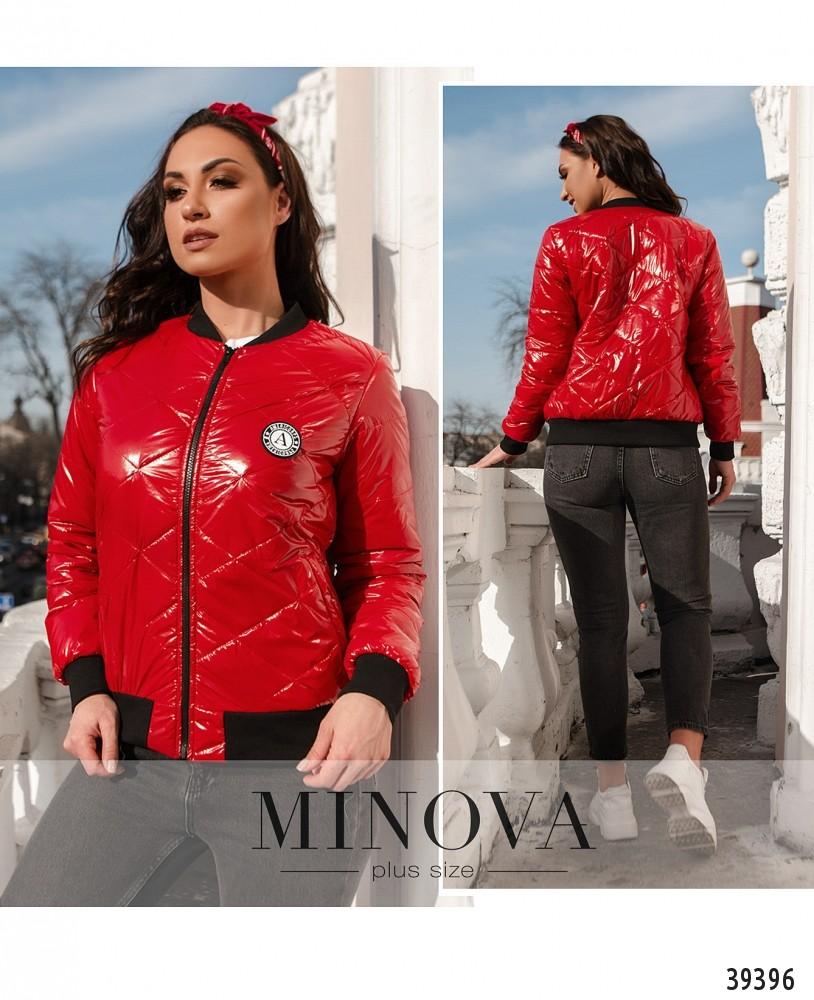 Куртка №822-красный-М