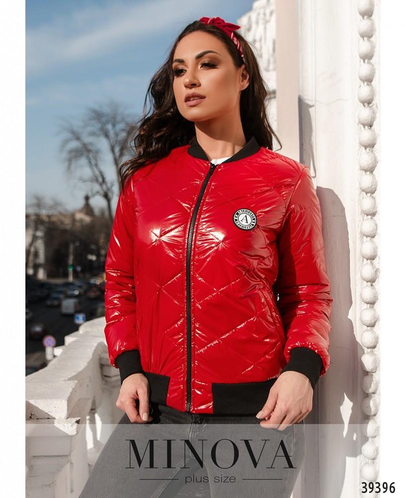 Куртка №822-красный