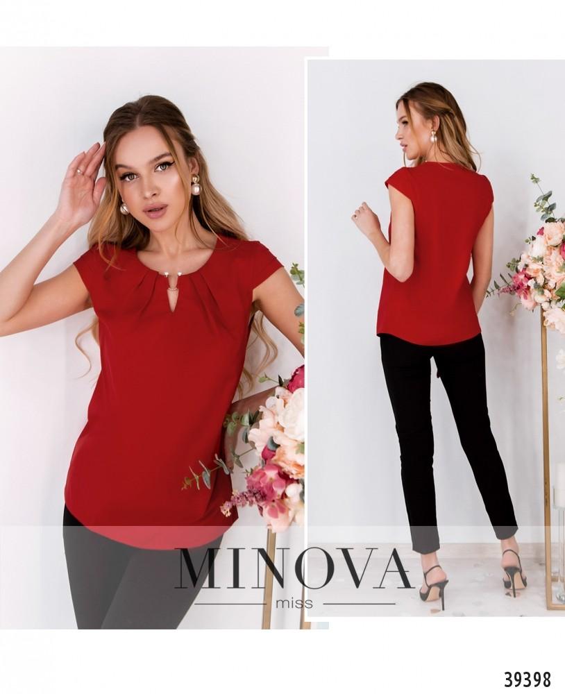 Рубашка №157-красный-М