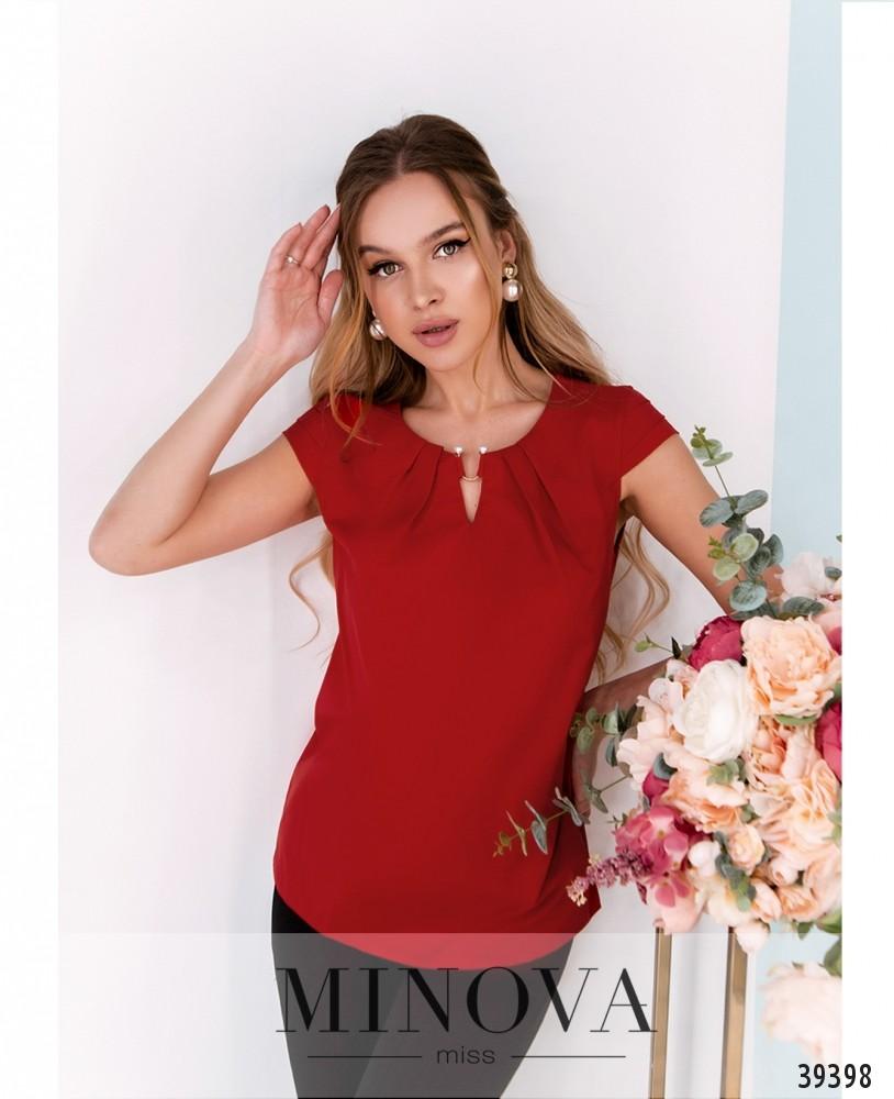 Рубашка №157-красный (н)