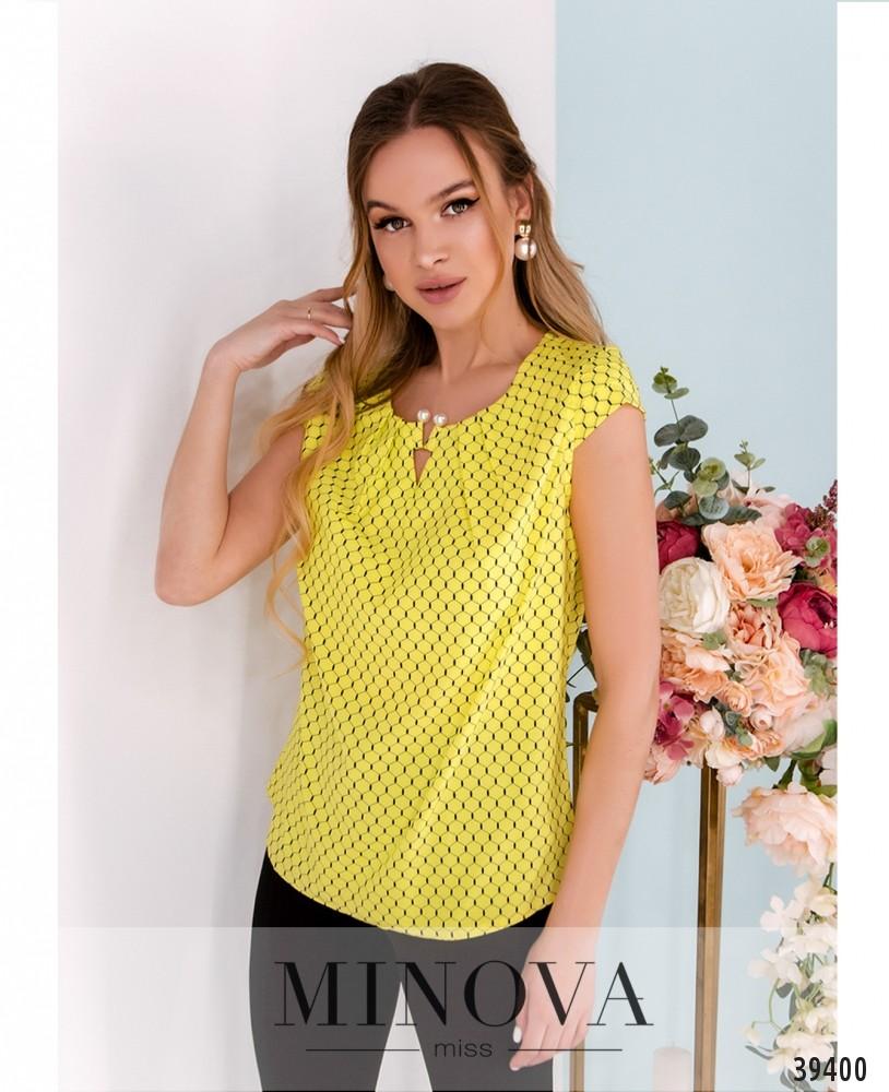 Рубашка №157-жёлтые-соты (н)