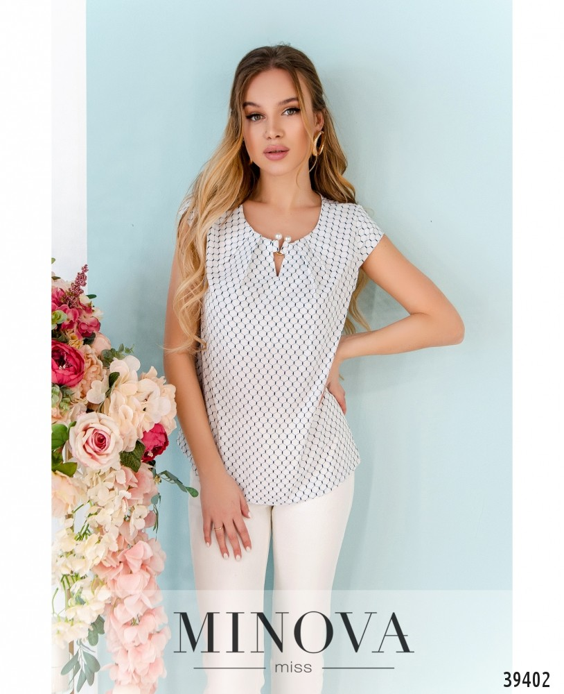 Рубашка №157-белые-соты (н)