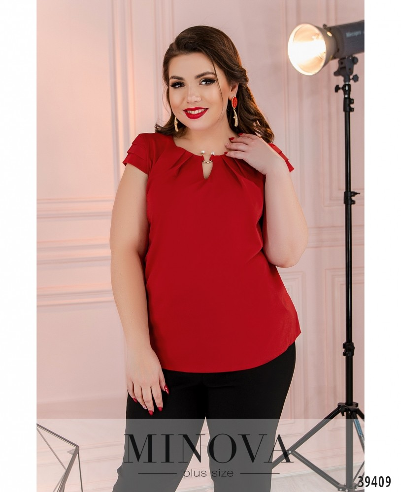 Рубашка №157Б-красный