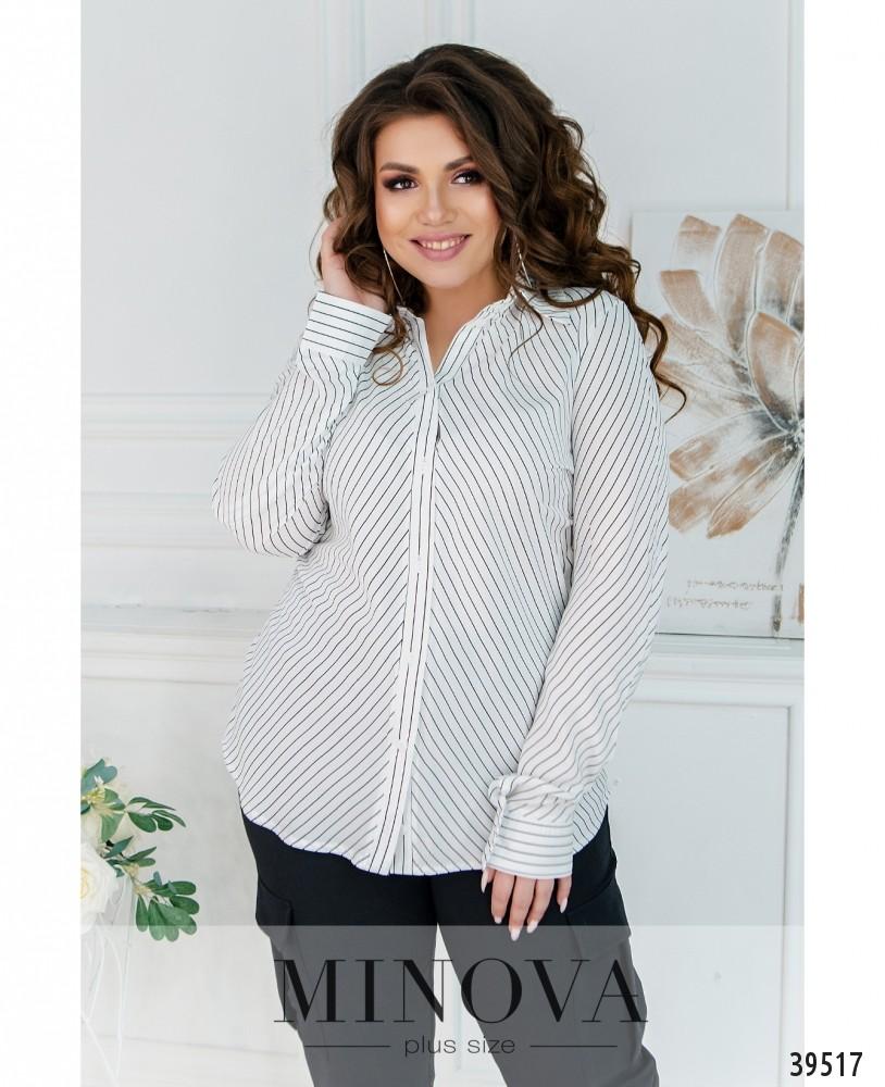 Рубашка №241-мелкая-полоска