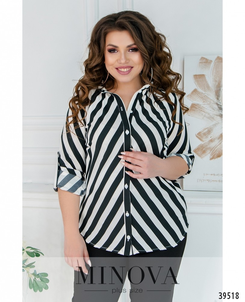 Рубашка №241-чёрный