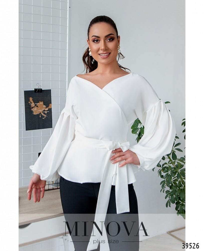 Рубашка №4123Б-белый