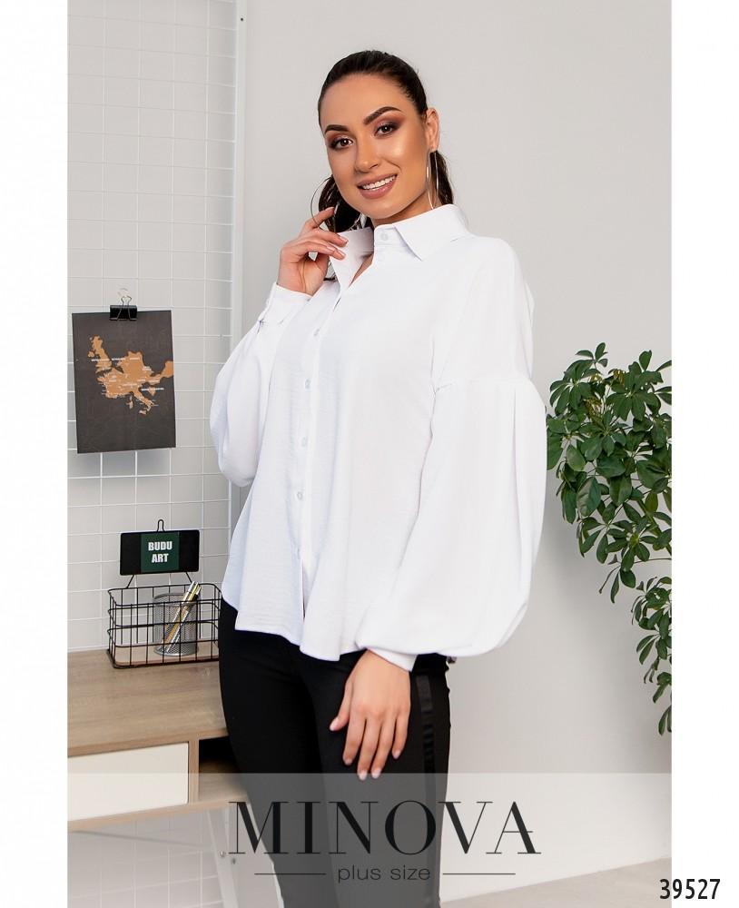 Рубашка №4117Б-белый
