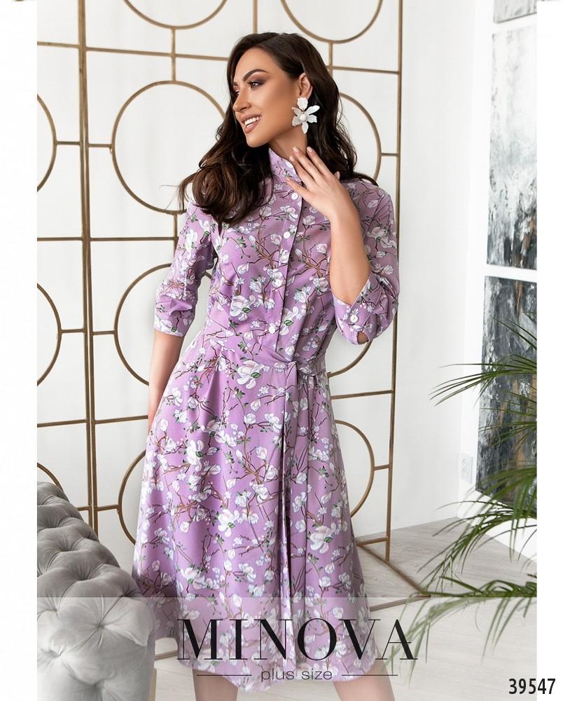 Платье №845-фиолетовый