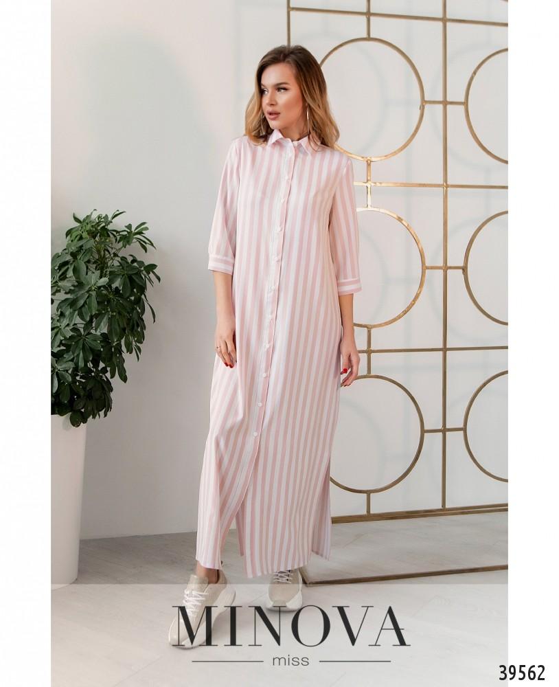 Платье №14011-розовый (н)