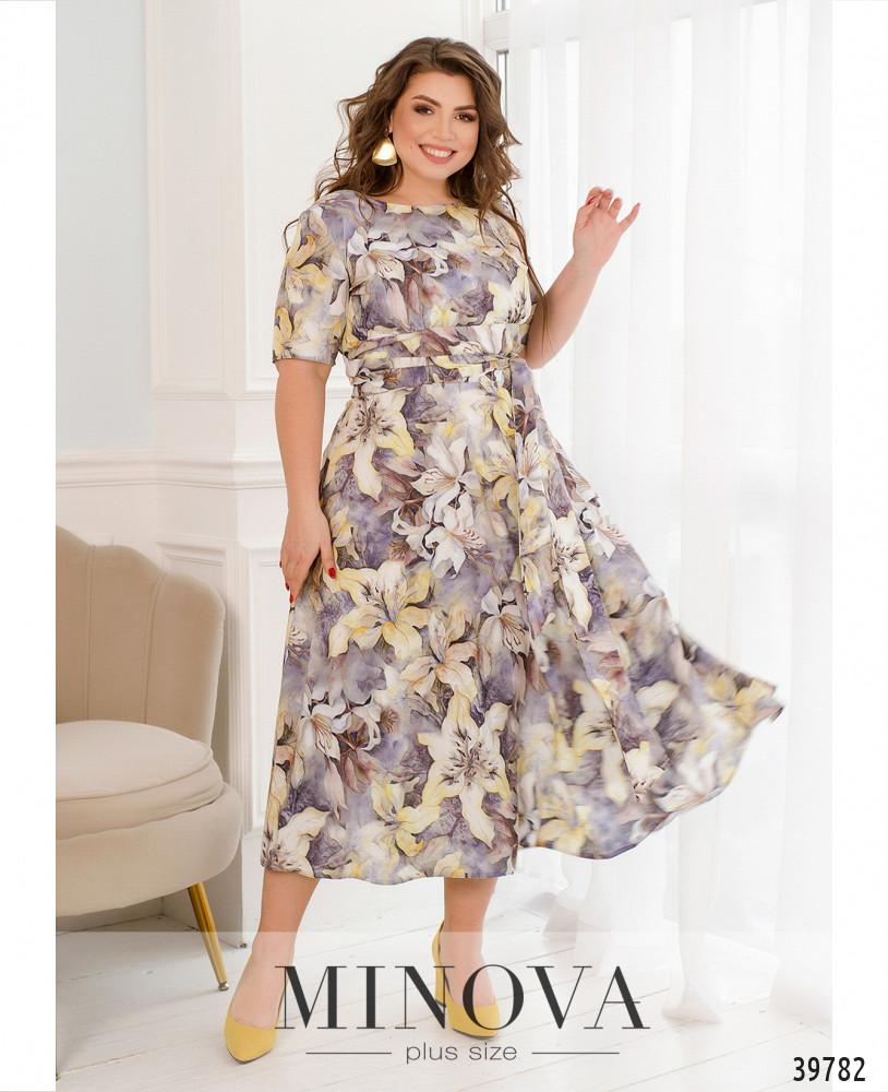 Платье MA18-22-дымчато-фиолетовый