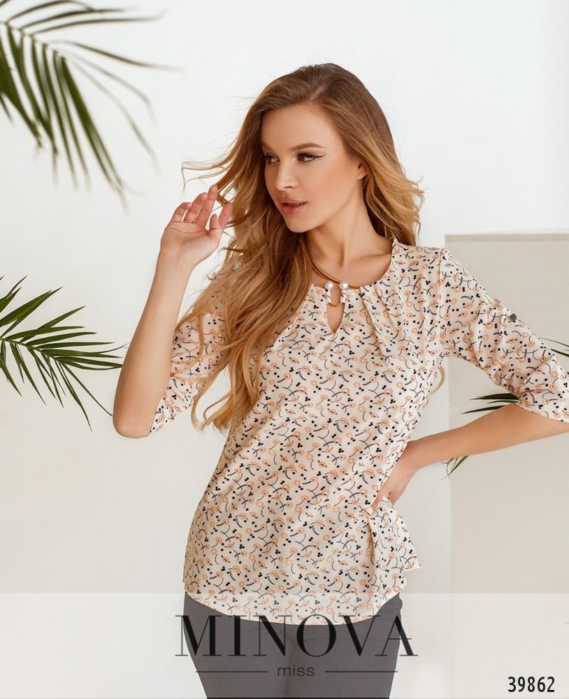Рубашка №157-1-пудра (н)