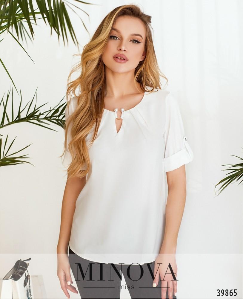 Рубашка №157-1-белый (н)