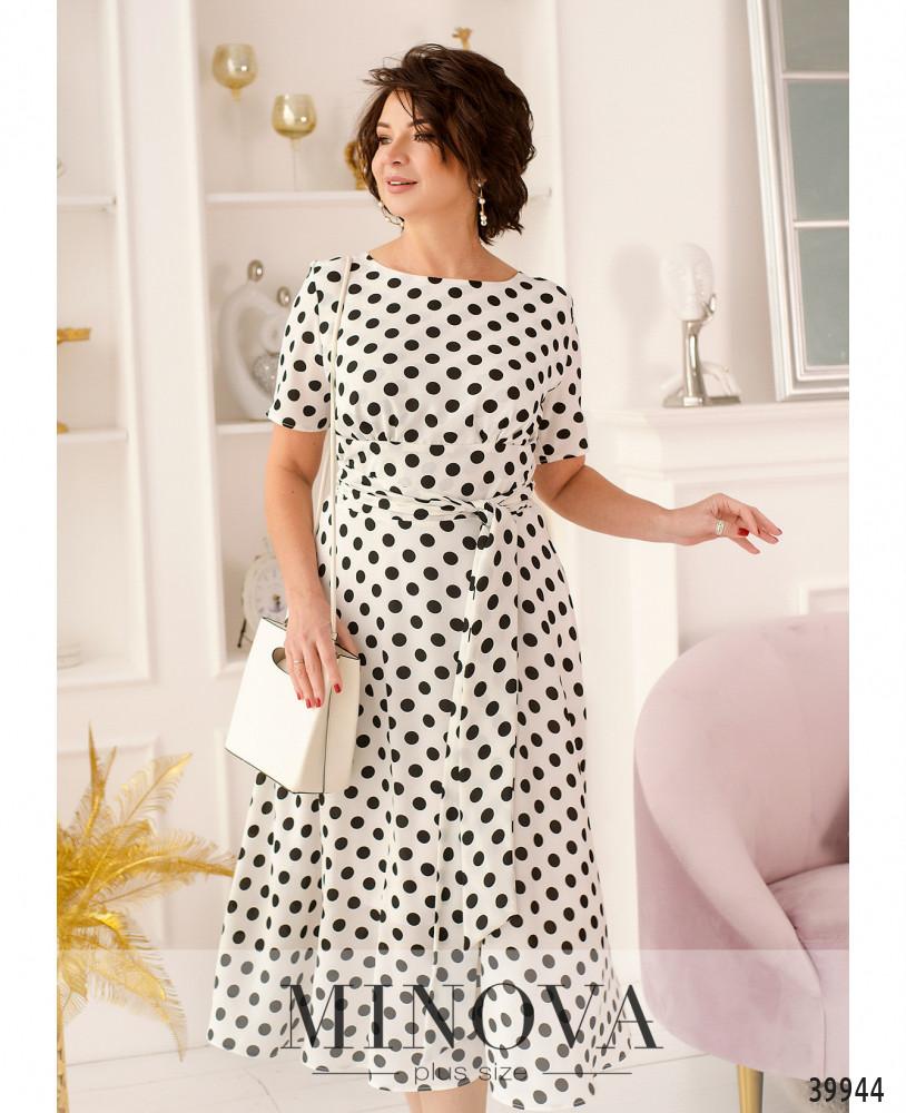 Платье MA20-20-белый
