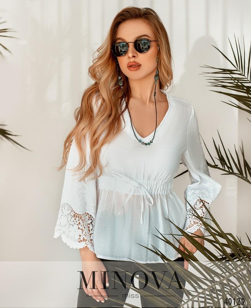Рубашка №26-1-белый (н)