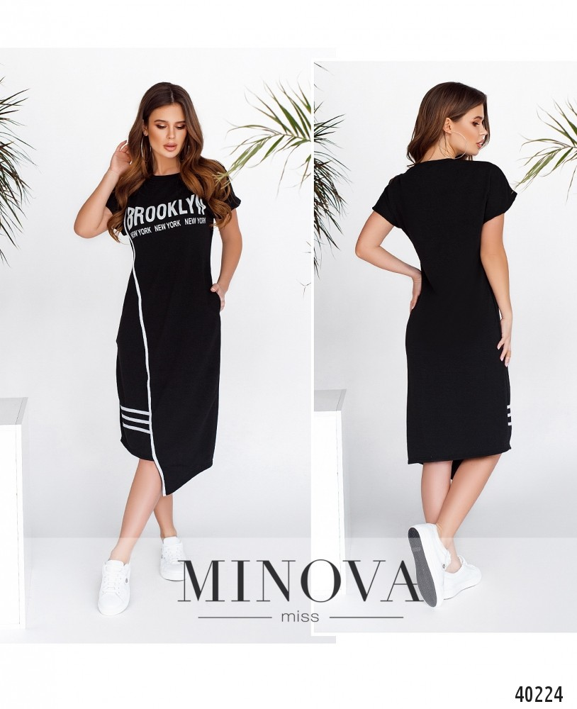 Платье №202Н-черный -MV
