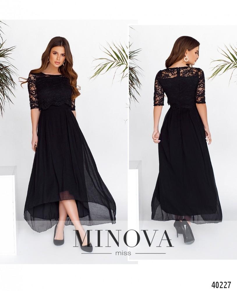Платье №2104-черный -MV