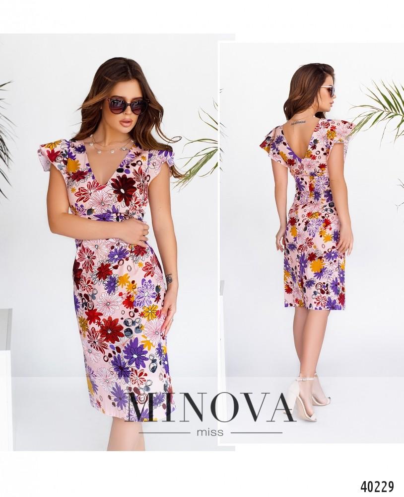 Платье №514Н-пудра-MV