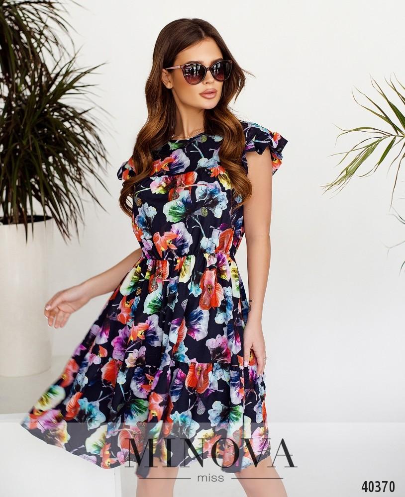 Платье №06-Синий (н)