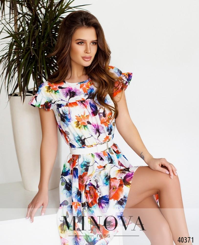 Платье №06-Белый (н)