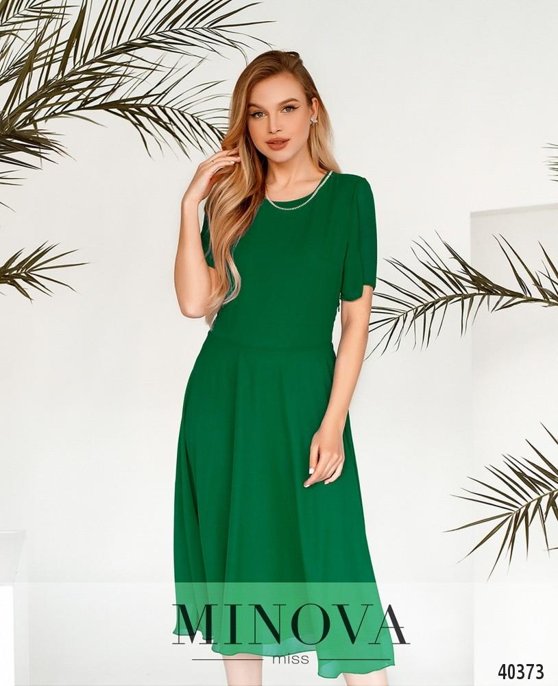 Платье №3148-зеленый (н)