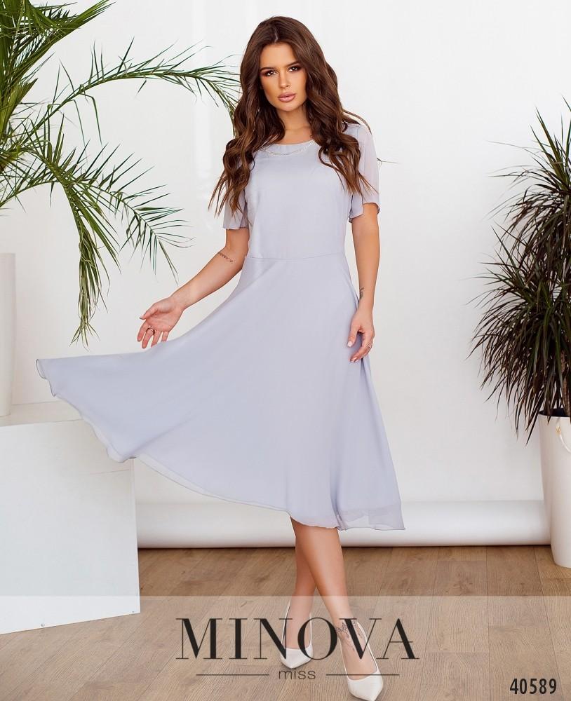 Платье №3148-серый (н)