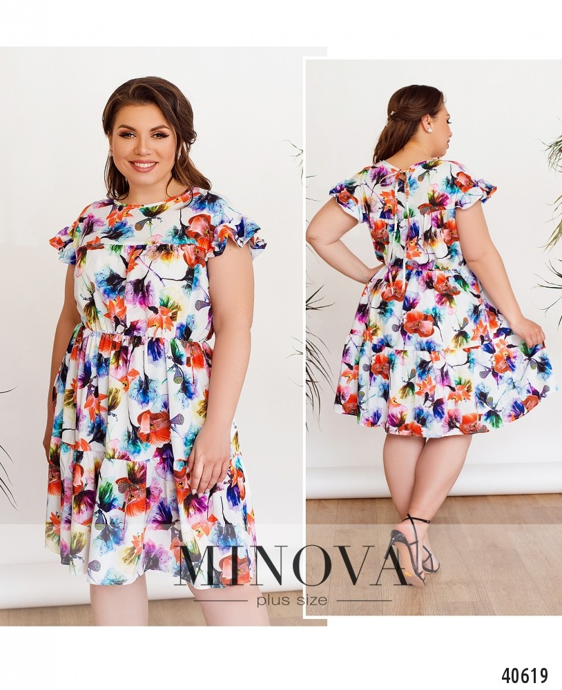 Платье №06Б-белый-М