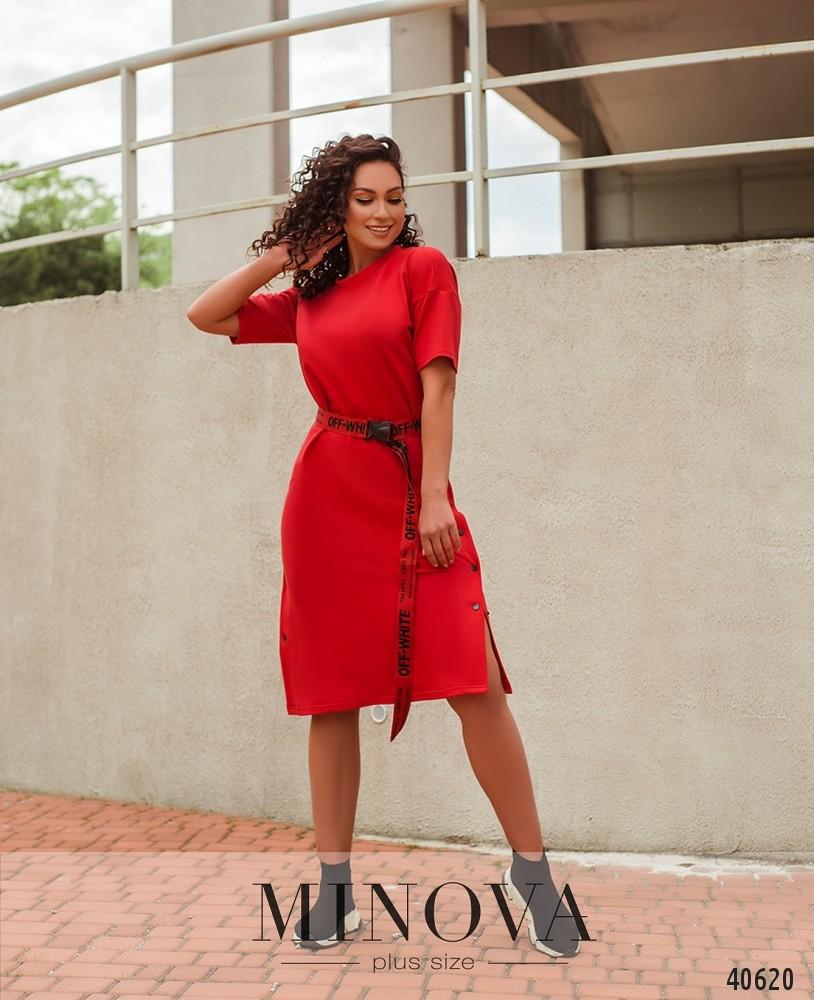 Платье №868-красный (н/б)