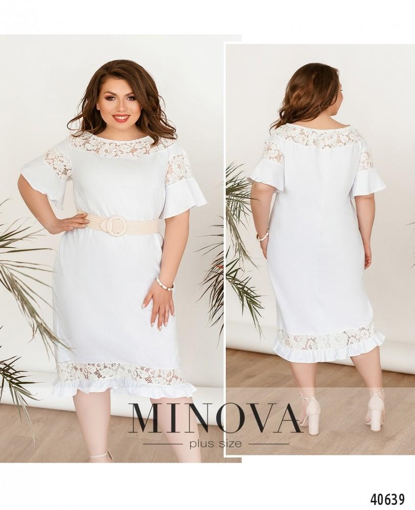 Платье №3346-белый-М