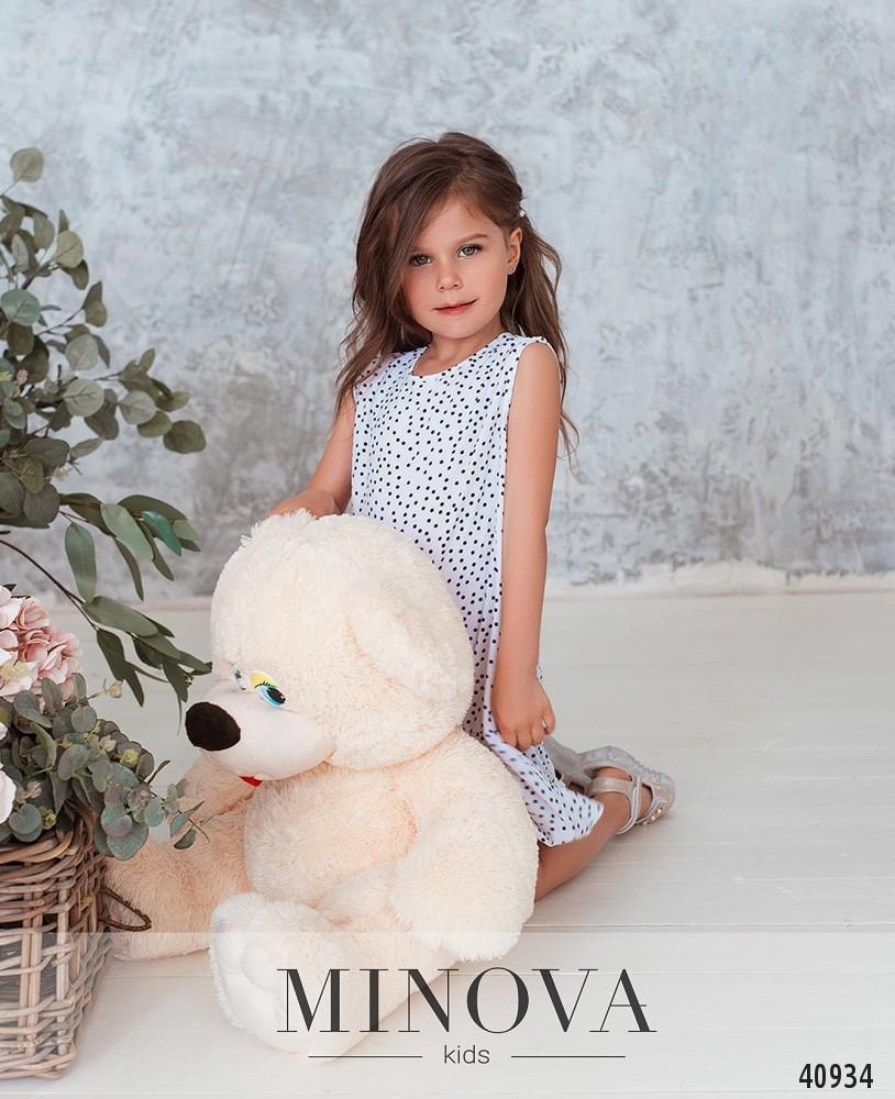 Платье №874Д-белый