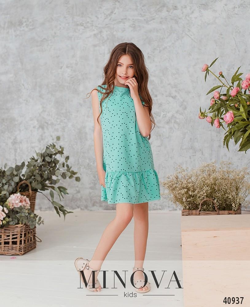 Платье №874Д-мята