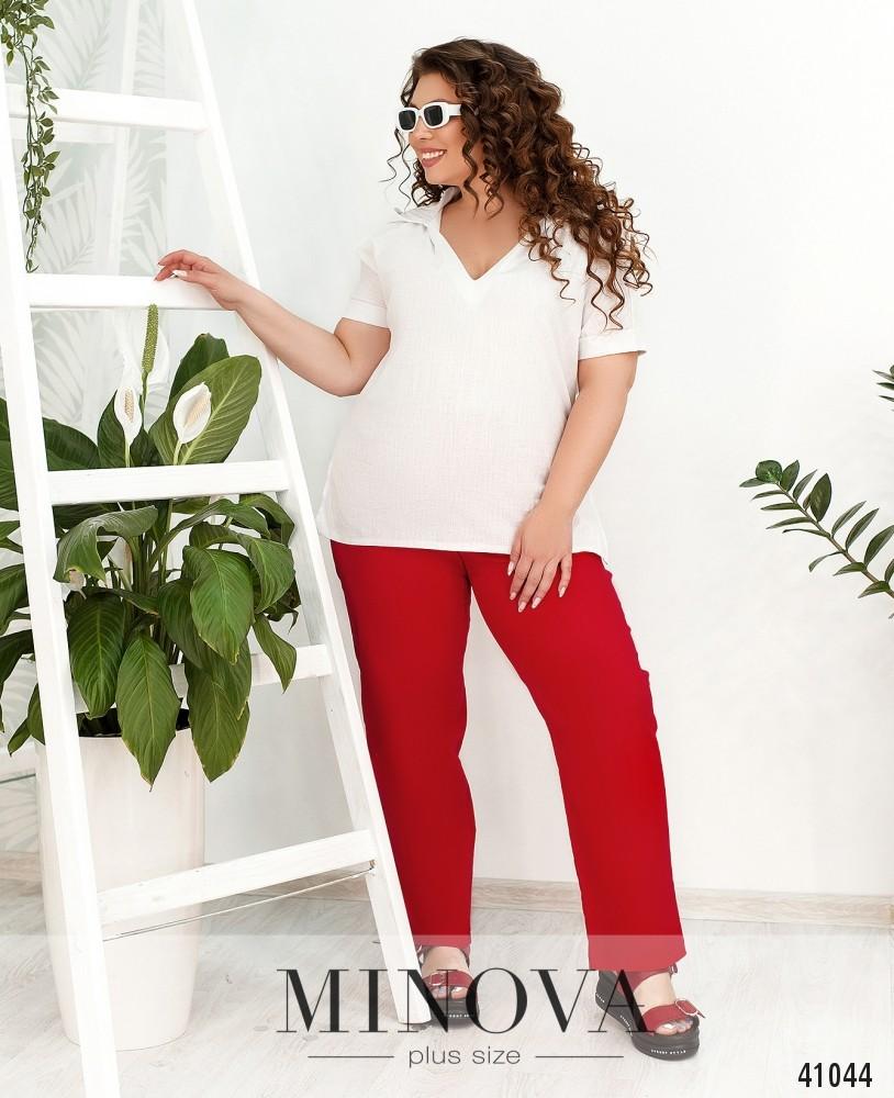 Брюки MA260-Красный