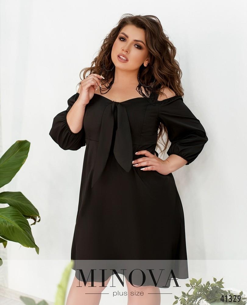 Платье MA0138-черный