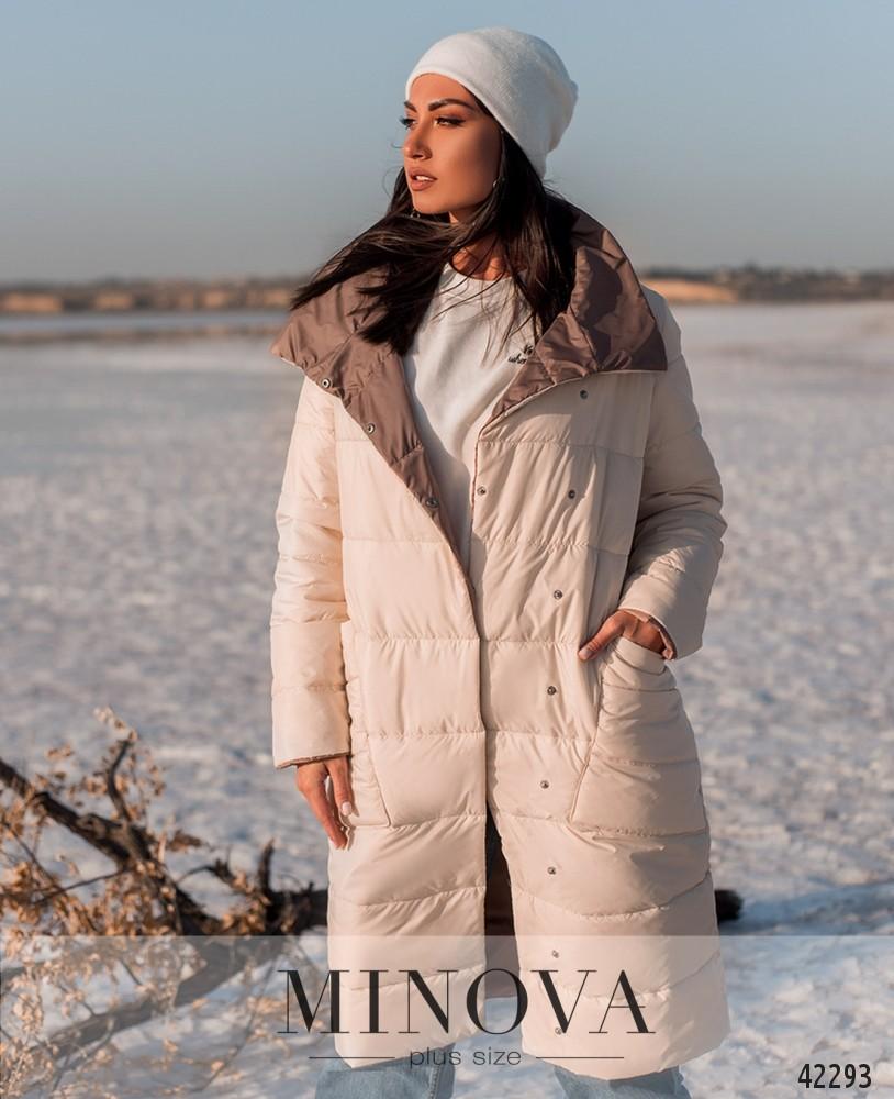 Куртка MA2070Б-бежевый-капучино