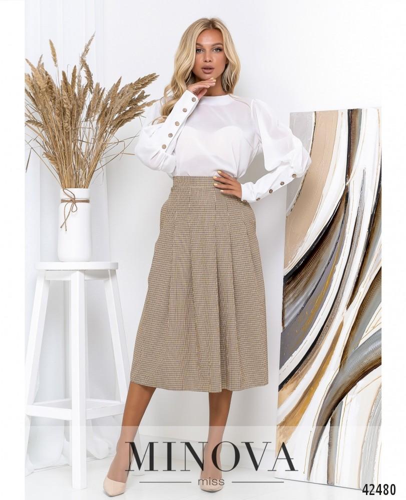 Блуза MA152-белый (н)